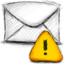 Email with Warning