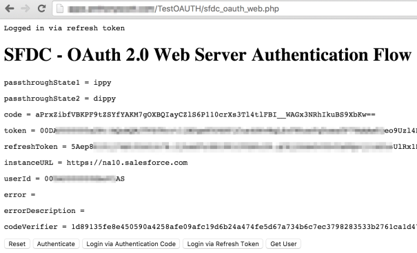OAuth Refresh Login